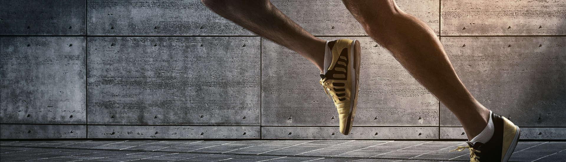 joggers legs running