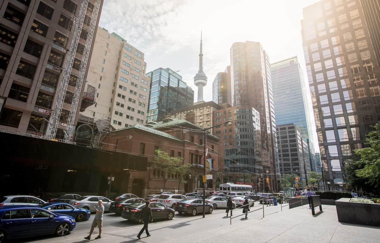 Downtown Toronto, financial district