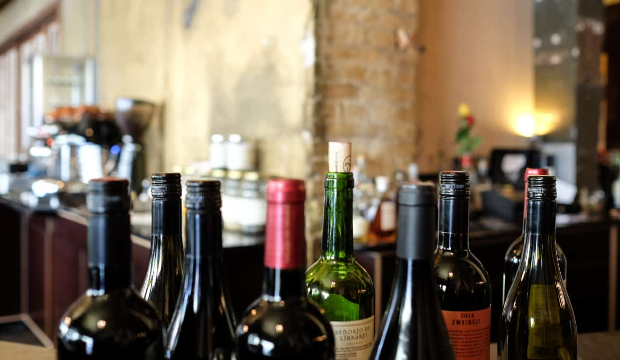 Image of wine bottles for private wine sales story