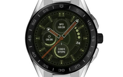 TAG HEUER UPS ITS SMARTWATCH GAME WITH CONNECTED