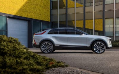 THE NEW LYRIQ PROPELS CADILLAC INTO AN ELECTRIC FUTURE