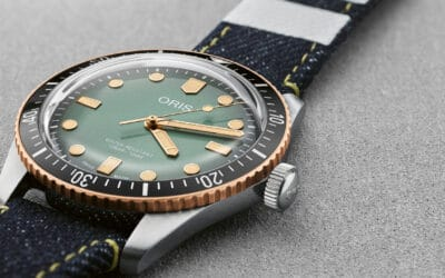 THE ORIS DIVERS 65 IS A TIMELESS CLASSIC THAT LOOKS SMART ON THE WRIST