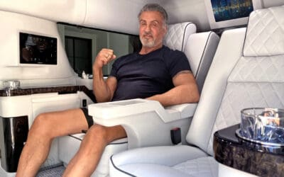 VIDEO: CHECK OUT SYLVESTER STALLONE'S SUPED UP CADILLAC ESCALADE SUV, SELLING NOW FOR $350K