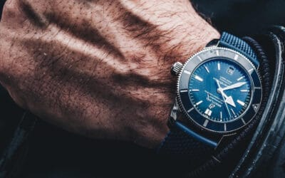 SPORT HERITAGE, CLASS AND PRESTIGE WITH THE BREITLING SUPEROCEAN (BLUE) LUXURY WATCH