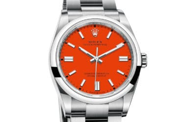 WRIST SHOT: INTRODUCING A NEW LINE OF COLOURFUL ROLEX OYSTER PERPETUAL MODELS