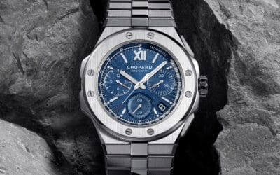 LUXURY WATCH REVIEW: CHOPARD'S BOLD NEW ALPINE EAGLE COLLECTION