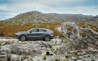PORSCHE CAYENNE TURBO COUPE WALKS THE LINE BETWEEN STYLISH DESIGN AND SUV PRACTICALITY