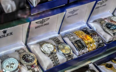 HEADING ONLINE TO SHOP? BUYER BEWARE. WITH COUNTERFEITING, ALL THAT GLITTERS ISN'T GOLD