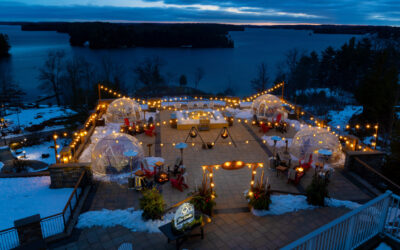 MUSKOKA ICE CAVES OFFERS VISITORS AN EXCLUSIVE AND SAVOURY OUTDOOR DINING EXPERIENCE