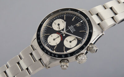 TIC TALK: PAUL NEWMAN VINTAGE ROLEX SCORES RECORD SALE FIGURE IN NEW YORK WATCH AUCTION