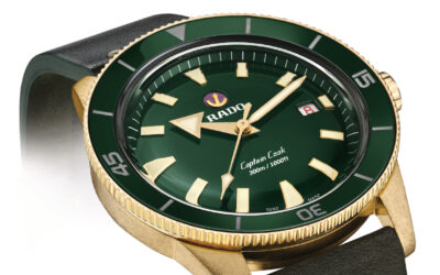 HOLIDAY GIFT IDEA: RADO CAPTAIN COOK DIVER'S WATCH WITH BRONZE CASE OPTION
