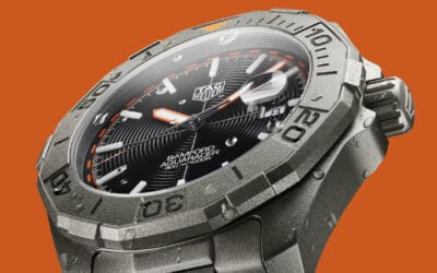 TIC TALK: TAG HEUER TEAMS UP WITH BRITISH BESPOKE WATCH HOUSE TO LAUNCH LIMITED EDITION AQUARACER