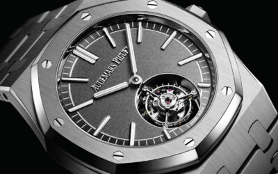 AUDEMARS PIGUET SOARS WITH DAZZLING ADDITIONS TO THE ROYAL OAK FAMILY