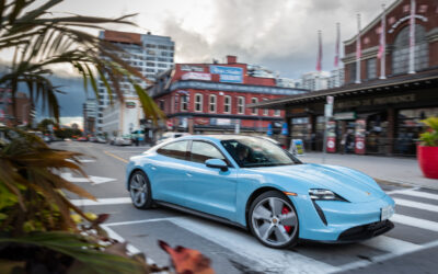 RANGE ANXIETY REMAINS A BIG FACTOR, BUT THE PORSCHE TAYCAN 4S EV SCORES ON SO MANY OTHER LEVELS