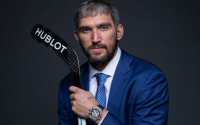 THE GREAT 8: LED BY ALEX OVECHKIN, PRO ATHLETES ARE SETTING THE TRENDS FOR MEN'S LUXURY WATCHES