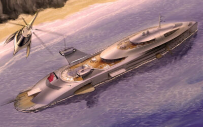 OUT-OF-THE-BOX SUPERYACHT TRAVEL IN A MAD MAX, POST-PANDEMIC WORLD