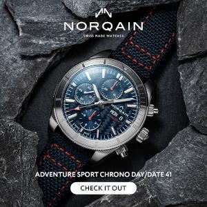 Adventure Sport Chrono Day/Date 41mm Blue