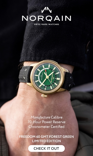 Freedom 60 GMT Limited Ed. Manufacture Bronze Green