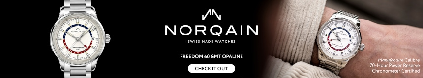 Freedom 60 GMT Manufacture Opaline 40mm