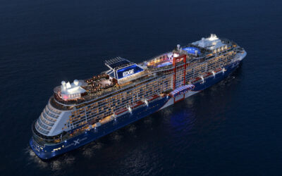NEW LUXURY SHIP CELEBRITY EDGE FIRST CRUISE SHIP TO SAIL FROM U.S. PORT IN 15 MONTHS