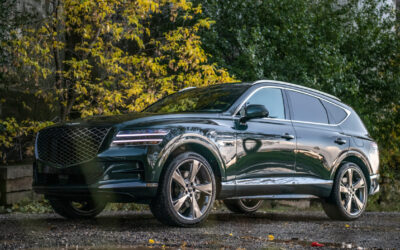 GENESIS GV80 SETTING NEW SAFETY STANDARDS IN THE LUXURY SUV MARKET. JUST ASK TIGER WOODS.