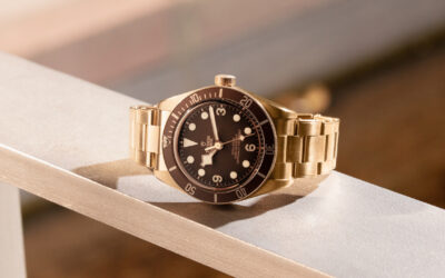NEW THIS MORNING: THE TUDOR BLACK BAY FIFTY-EIGHT BRONZE DIVERS' WATCH