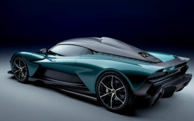 ASTON MARTIN VALHALLA IS A CUTTING EDGE BLEND OF THE PAST AND THE PRESENT
