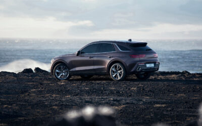 2022 GENESIS GV70 SUV:  LESS MUSCULAR THAN THE GV80, BUT SPORTY AND SLEEK NONETHELESS