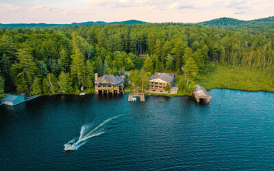 LUXE RETREAT UP FOR AUCTION NEAR LAKE PLACID PART OF EXCLUSIVE ENCLAVE THAT'S HOSTED MANY U.S. PRESIDENTS