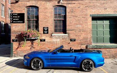 PONDERING THE OUTLOOK FOR ELECTRIC POWERTRAINS WHILE SITTING IN A GAS-POWERED MUSTANG GT CONVERTIBLE